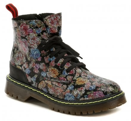 298dc41201a Koma 13D01K2 černá kotníčková obuv