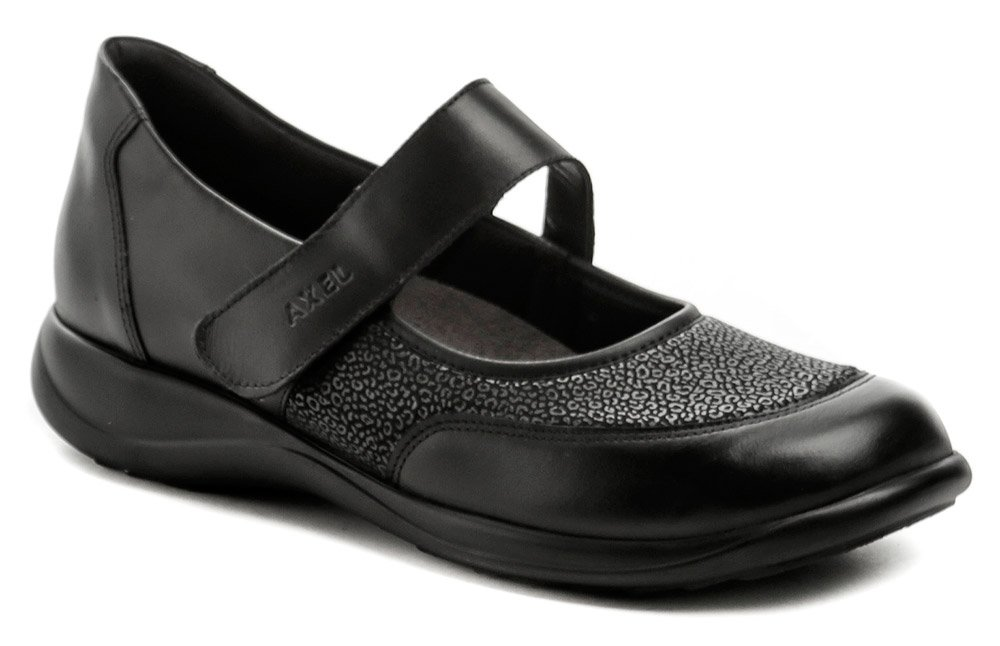 Axel AXCW062 černé dámské polobotky boty šíře H EUR 37
