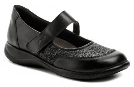 e700c259b43d Axel AXCW062 černé dámské polobotky boty šíře H