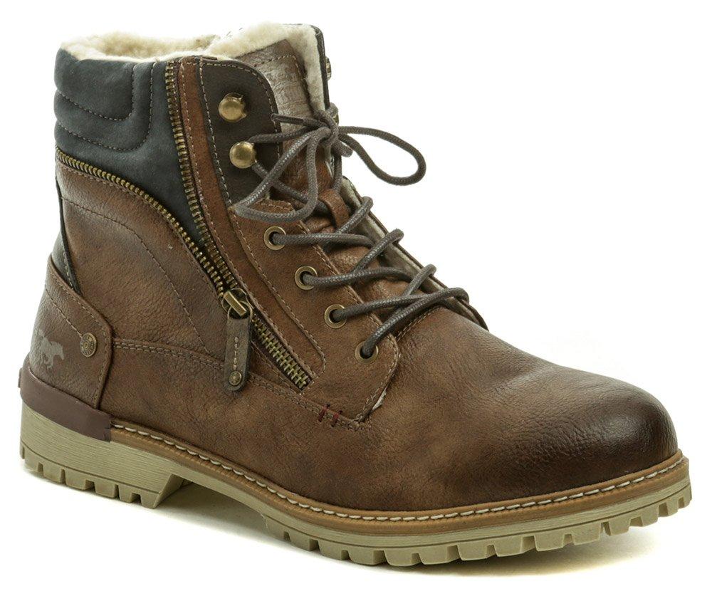 Mustang 4142-601-360 hnědé pánské zimní boty EUR 43