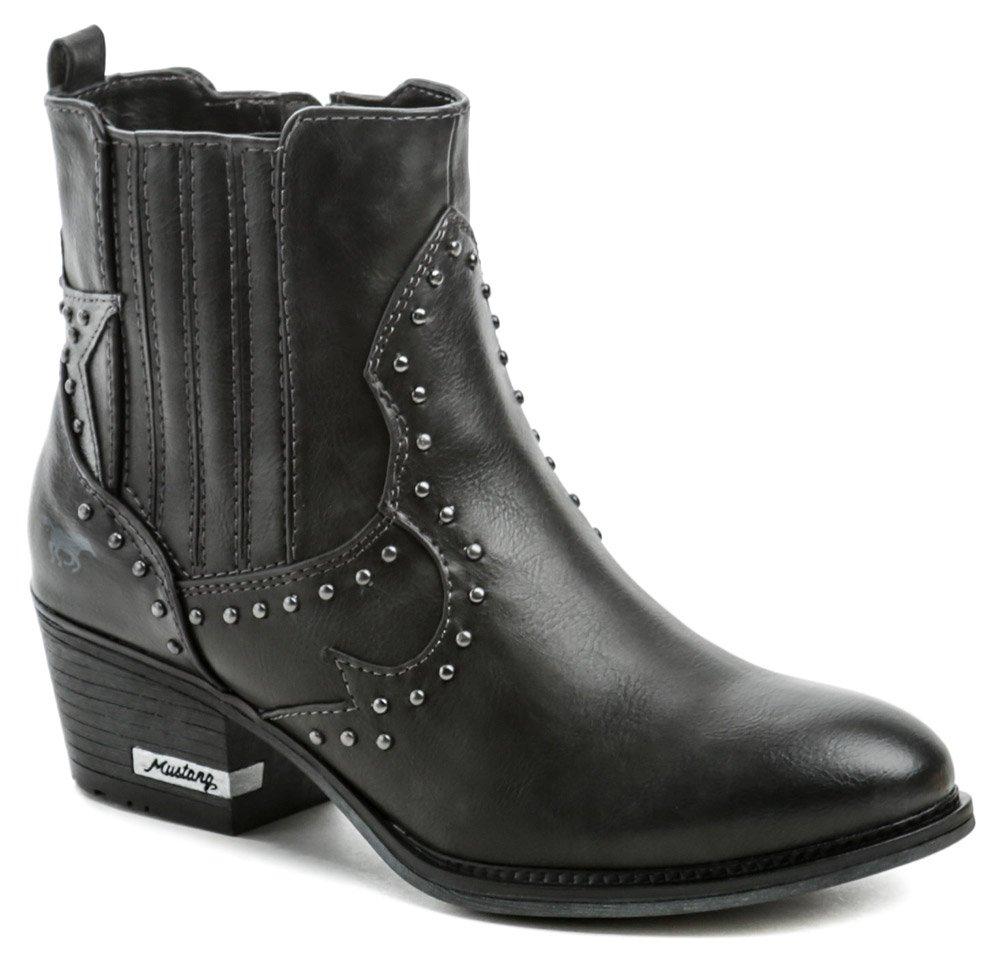 Mustang 1346-502-259 grafit dámské zimní boty EUR 37