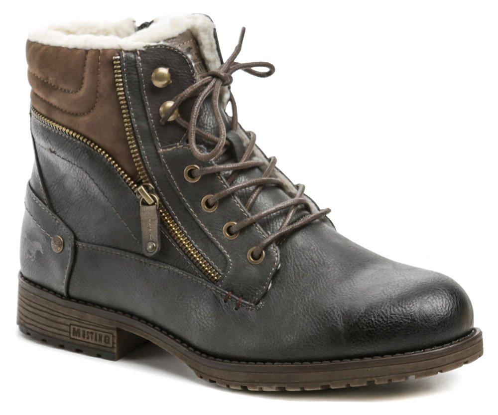 Mustang 4119-604-259 grafit pánské zimní boty EUR 43