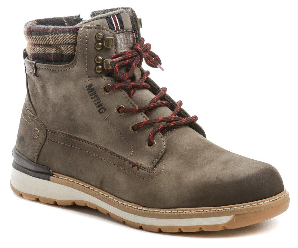 Mustang 4141-503-306 cafe pánské zimní boty EUR 44