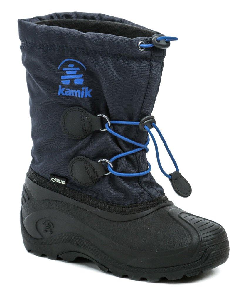 KAMIK INSIGHT GTX modré dětské zimní sněhule Gore-Tex EUR 33/34