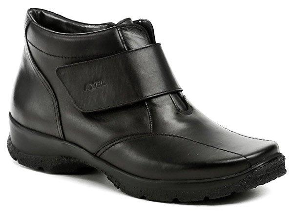 Axel AXBW092 černé dámské zimní boty šíře H EUR 37