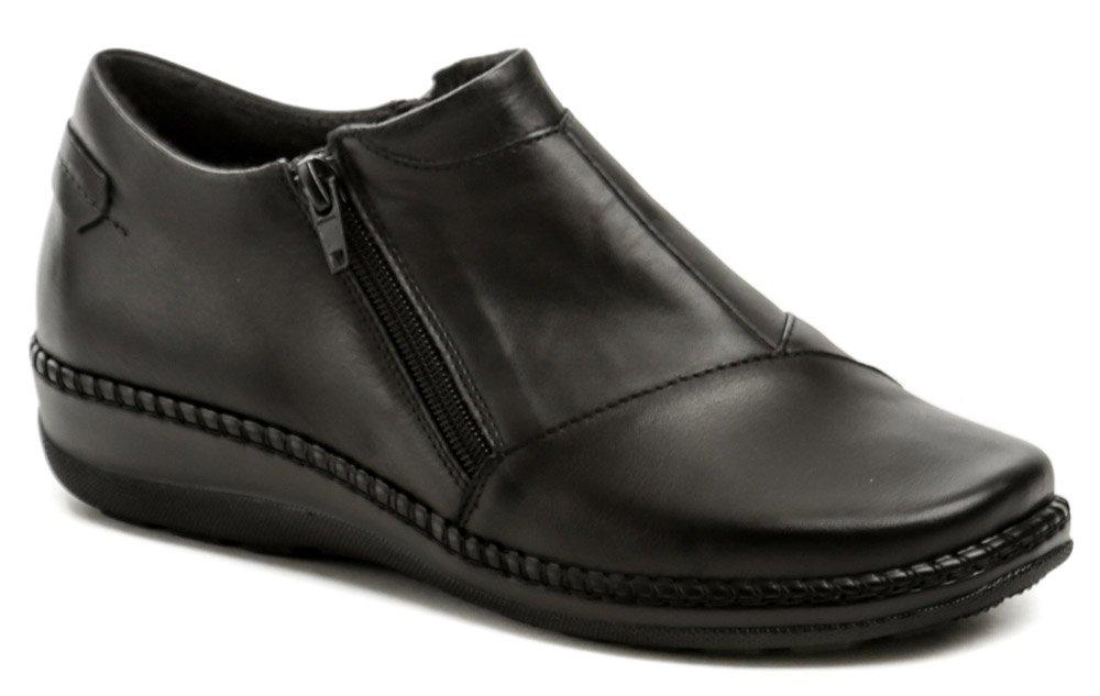 Axel AXBW068 černé dámské polobotky boty šíře H EUR 37