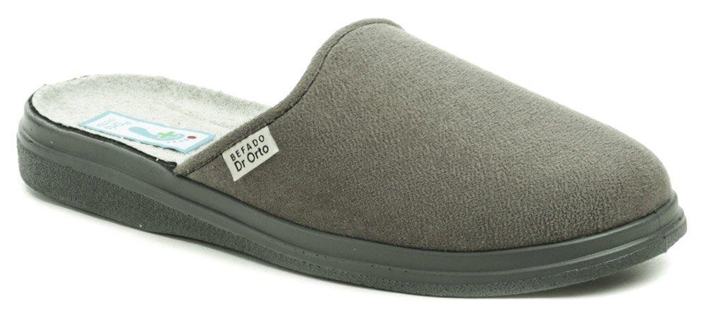 Dr. Orto 125M009 šedé pánské zdravotní pantofle EUR 45