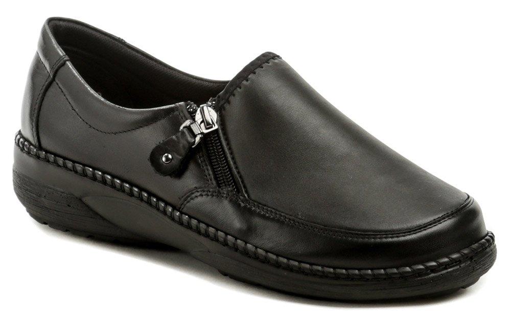 Axel AXCW135 černé dámské polobotky boty šíře H EUR 37