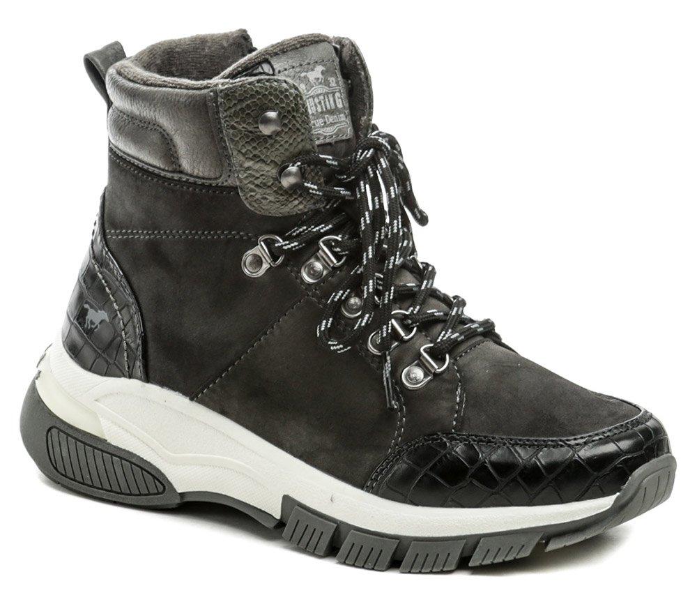 Mustang 1367-502-20 černá dámská zimní obuv EUR 39