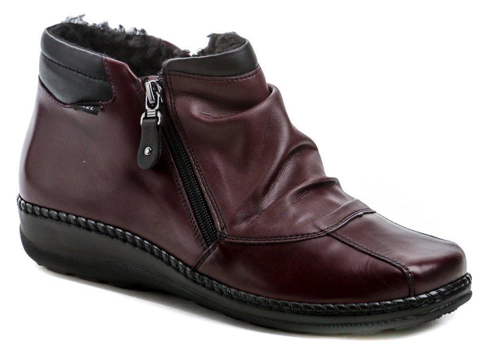Axel AX1725 bordó dámské zimní boty šíře H EUR 37