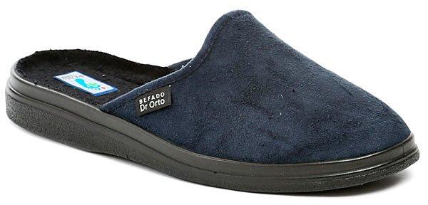 Dr. Orto 132M006 modré pánské zdravotní pantofle EUR 44