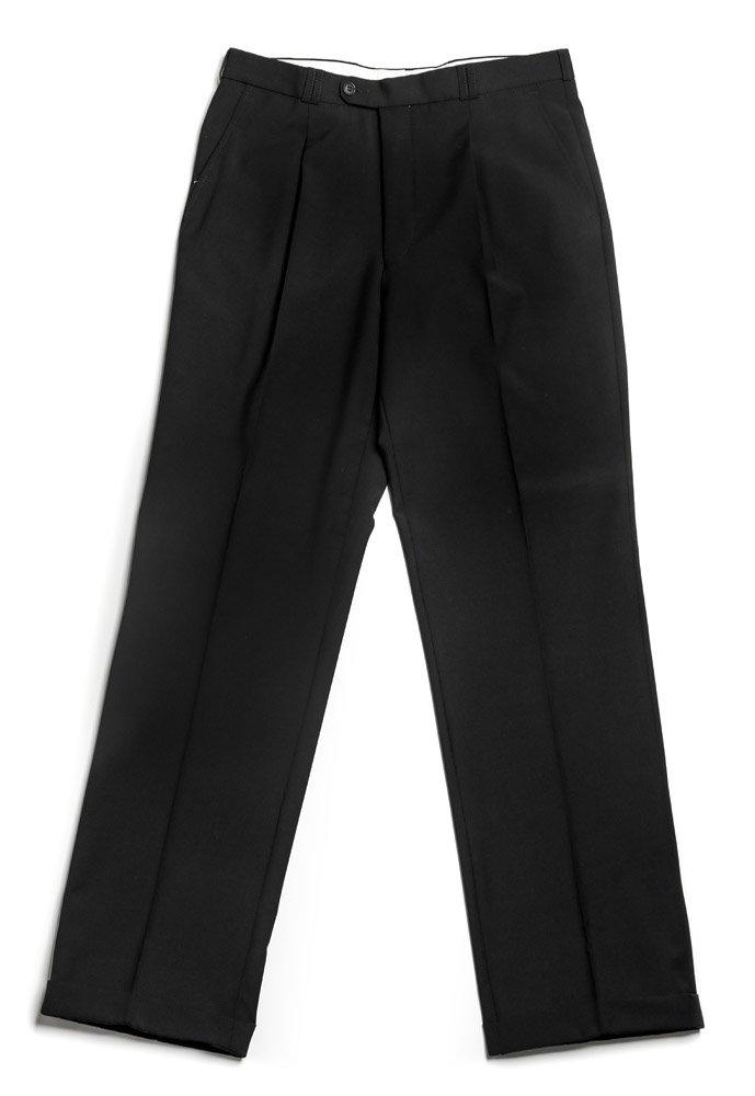 Veltex Petr černé pánské kalhoty se sámkem EUR 182/88