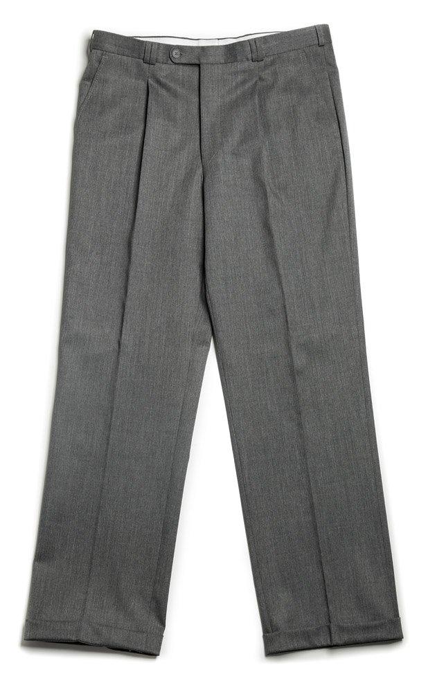 Veltex Petr šedé pánské kalhoty se sámkem EUR 176/88