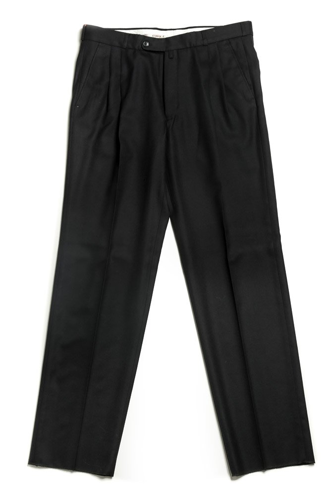 Escola černé pánské kalhoty se sámkem EUR 44