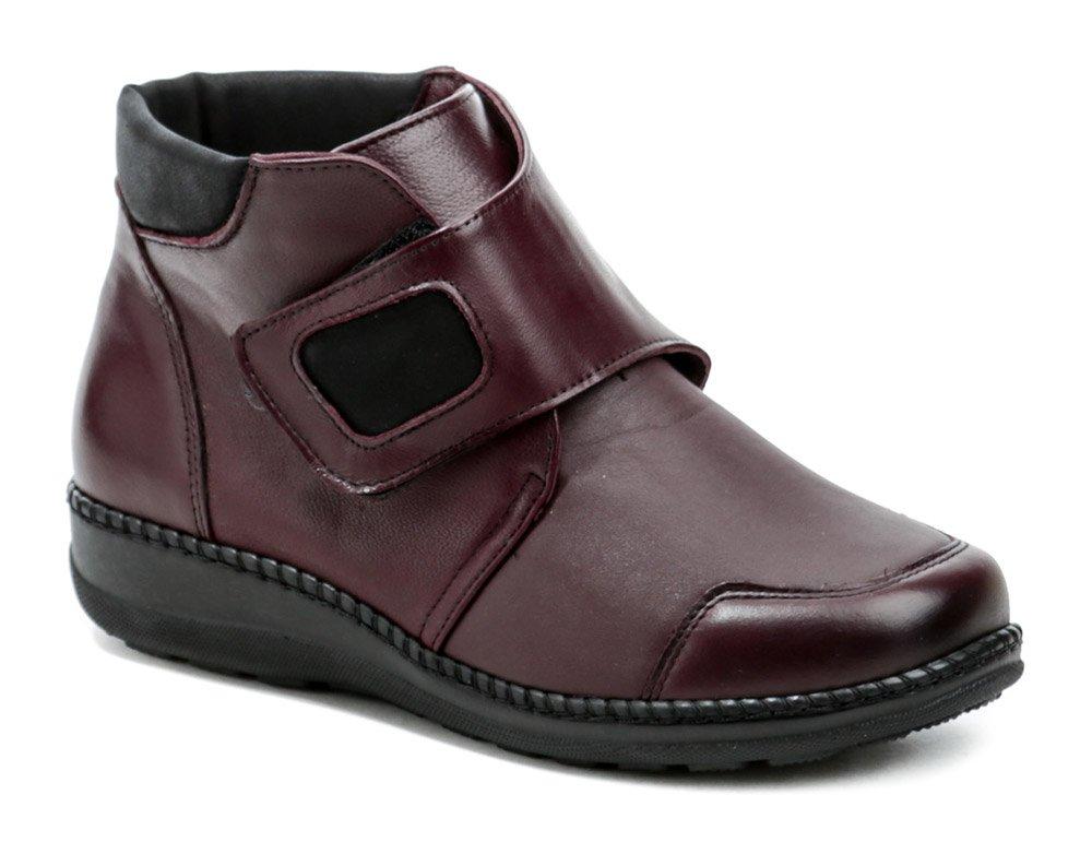 Axel AX1726 bordó dámské zimní boty šíře H EUR 39