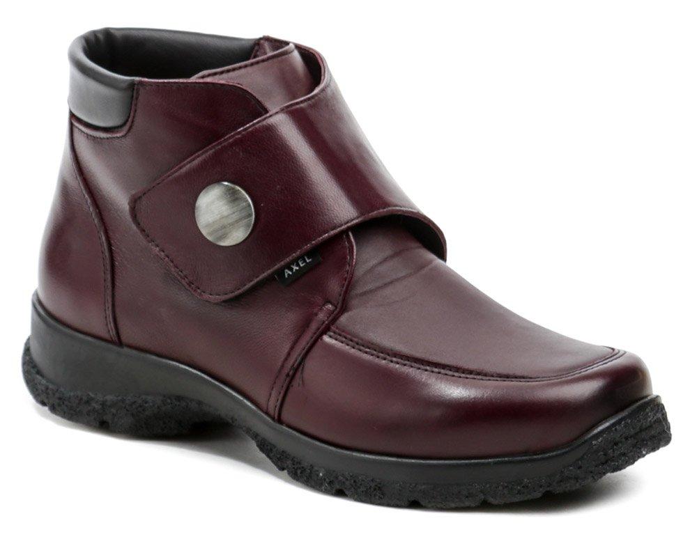 Axel AXCW165 vínové dámské boty šíře H EUR 39